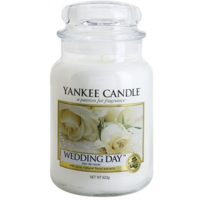 Yankee Candle Grande jarre Wedding Day / Jour de Noces YankeeStore.fr