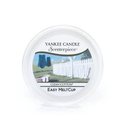 Yankee Candle meltcup clean cotton