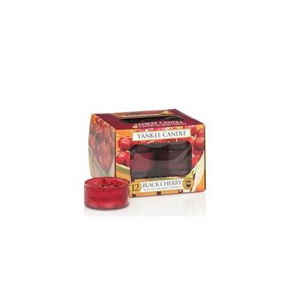 Yankee Candle Lumignons Black Cherry / Griotte YankeeStore.fr
