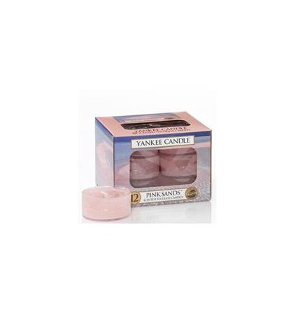 Yankee Candle Lumignons Pink Sands / Sable Rose YankeeStore.fr