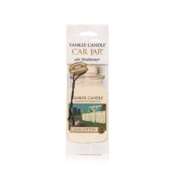 Yankee Candle Car Jar Clean Cotton YankeeStore.fr
