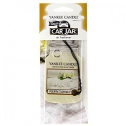 Yankee Candle Car Jar  Fluffy Towels YankeeStore.fr