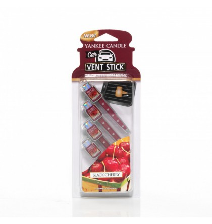 Yankee Candle car-jar-vent-stick-black-cherry yankeestore.fr