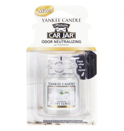 Yankee CandleCar Jar Ultimate Fluffy Towels YankeeStore.fr