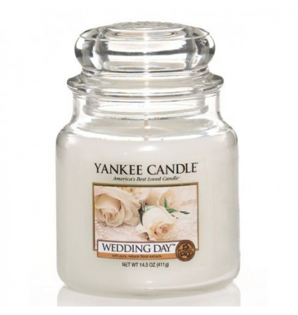 Yankee Candle Moyenne jarre Wedding Day / Jour de Noces Yankee Candle