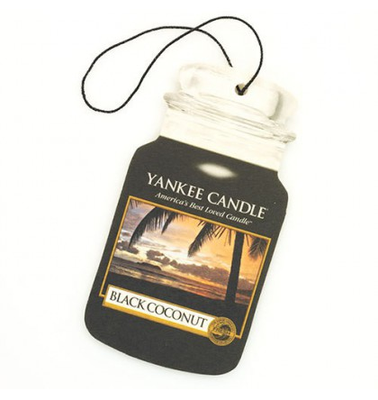 Yankee Candle Car Jar Black Coconut YankeeStore.fr