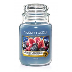 Yankee Candle Grande jarre Yankee Candle Mulberry and Fig Delight / Figues et Mûres Gourmandes yankeestore.fr